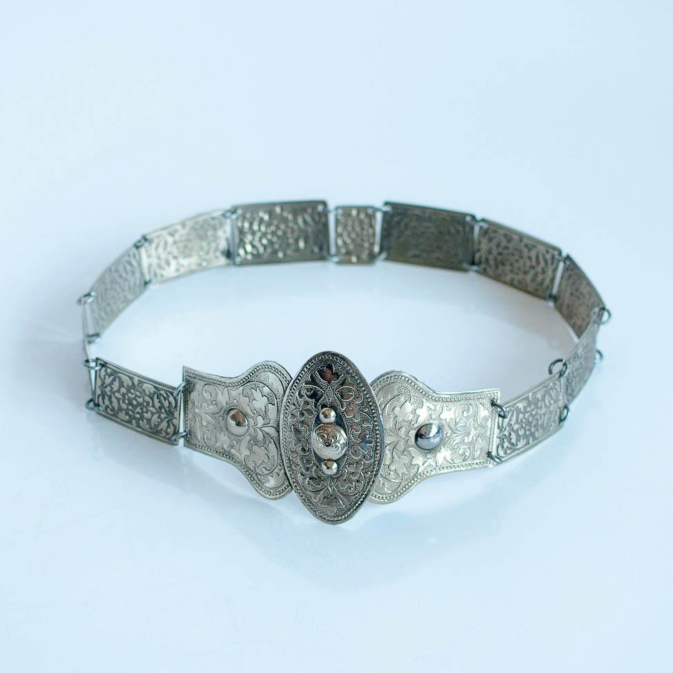 пояс 1 вид серебро